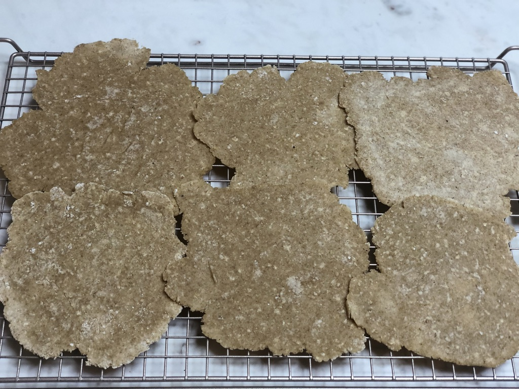 Allow oatmeal tortillas to cool
